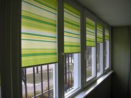 Рулонні штори-найкраща прикраса для вашого дому!