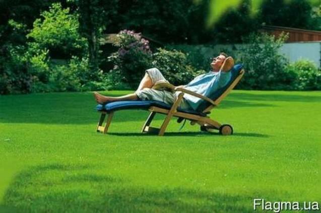 Рулонный газон. Доставка Укладка