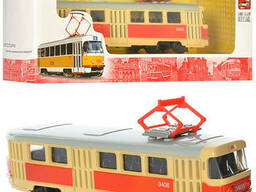 RUS Модель трамвай PLAY Smart 6411 A/B/C/D (6411A)