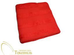 Рушник лицьовий 50х100, червоний 9206