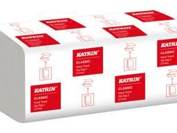 Рушники Katrin Classic, V-складання, білі, 2 шари
