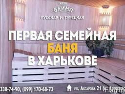 Русская и турецкая баня на Алексеевке
