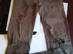 Рваные джинсы скины Zebra