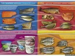 Рыба оптом. Готовая рыбная продукция от производителя