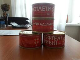 Рыбные консервы: фрикадельки, тефтели