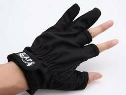 Рыболовные перчатки JY на два пальца