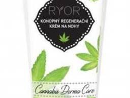RYOR Конопляный регенерирующий крем для ног Cannabis туба 100мл