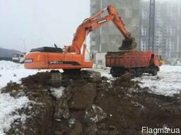 Рытье и разработка котлована Киев