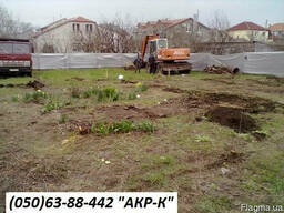 Рытье траншей и котлованов – Разработка (выемка) почв