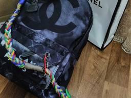 Рюкзак Chanel Шанель Граффити черный