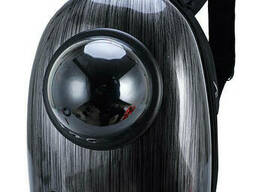 Рюкзак-переноска сумка для животных CosmoPet Черный Черный