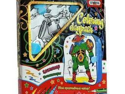 Рюкзак-раскраска Strateg Робот на русском SKL11-237346