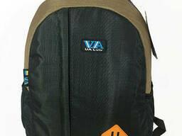 Рюкзак школьный VA R-69-127, черный-коричневый