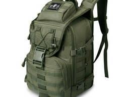 Рюкзак тактический Eagle M09B (штурмовой, военный) мужская сумка Оливковый