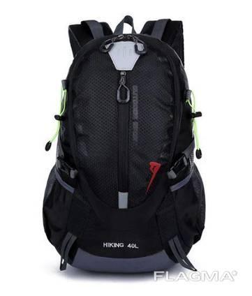 Рюкзак туристический xs2586 красный, черный, синий 40 л. Рюкзаки