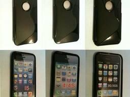 S line TPU чехол для iPhone 5 5s, iPhone 4 4s, iPhone 3g 3gs