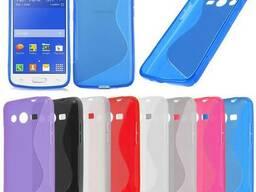 S-line TPU Силиконовый чехол для Samsung Galaxy Core 2 G3556