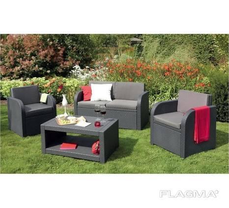Садовая мебель Allibert Modena Lounge Set