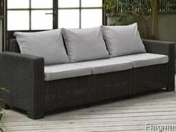 Садовая мебель California 3-Seater Sofa Allibert, Keter