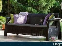 Садовая мебель Corfu Love Seat Max Allibert, Keter