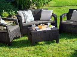 Комплект мебели Allibert Corfu - коричневый