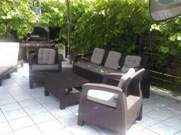 Садовая мебель Corfu Triple Set Allibert, Keter - фото 7