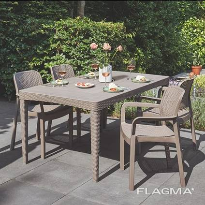 Садовая мебель Girona Samanna Garden Set Allibert, Keter