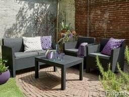 Садовая мебель Orlando Set With Large Table Allibert, Keter
