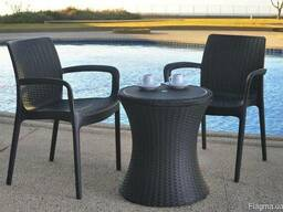 Садовая мебель Pacific Cool Bar Rattan Style Patio Allibert