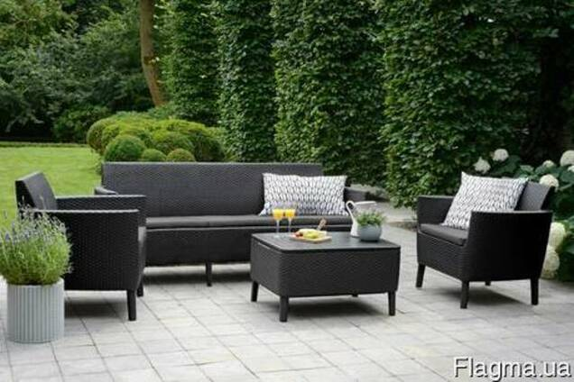 Садовая мебель Salemo 3 Seater Set Allibert, Keter