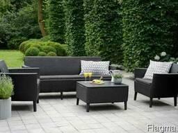 Садовая мебель Salemo 3 Seater Set Allibert, Keter - фото 1