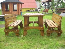 Садовая мебель. Столярные изделия