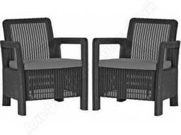 Садовая мебель Tarifa 2x Chairs Allibert, Keter - фото 3