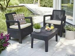 Садовая мебель Tarifa 2x Chairs Allibert, Keter - фото 7