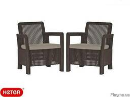 Садовая мебель Tarifa 2x Chairs Allibert, Keter - фото 8