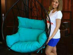 Садове крісло з металу підвісне крісло кокон