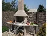 Садовый камин барбекю для беседки, уличная печь мангал - фото 3