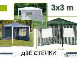 Садовый павильон шатер 3х3 со 2 стенками S