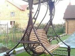 Садовые качели индивидуального изготовления