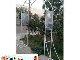 Садовые конструкции: Арки садовые. Арки, беседки