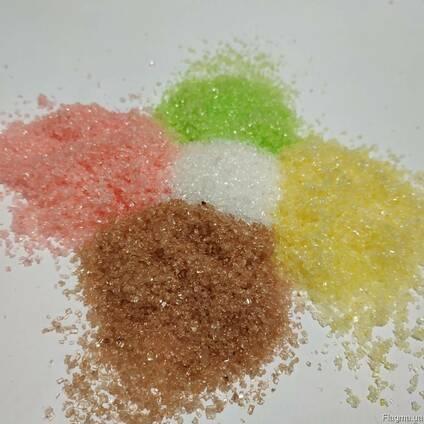 Сахар цветной с разными вкусами для сладкой сахарной ваты