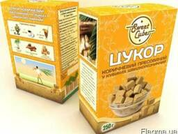 """Сахар коричневый пресованный ТМ """"Sweet Cubes"""" 0,250г."""