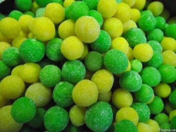 "Сахарное драже ""Яблочко-лимон"""