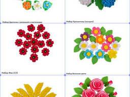 Сахарный декор цветы