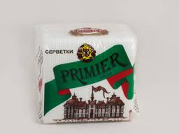 Салфетка Primier средняя белая 65л