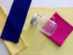 """Салфетки ткань 2 шт. сервировочные желтые """"aber"""""""