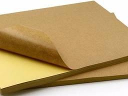 Самоклеющаяся бумага крафт (этикетка)