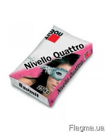 Самовыравнивающаяся смесь Baumit NivelloQuattro (1-20мм) 25
