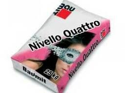 Самовыравнивающаяся смесь Baumit NivelloQuattro (1-20мм) 25 - фото 1