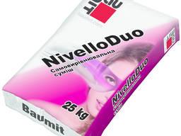 Самовыравнивающаяся смесь Baumit NivelloDuo (2-20мм) 25кг